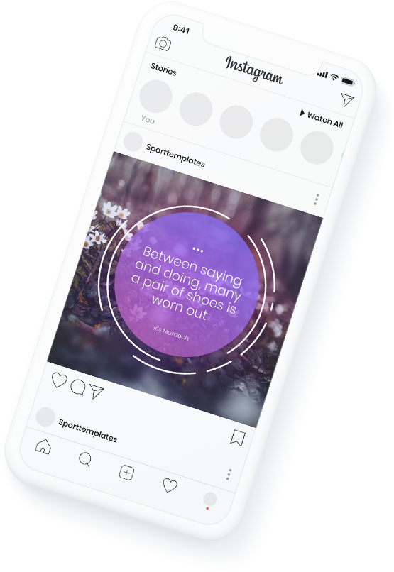 Free beautiful typography templates for instagram
